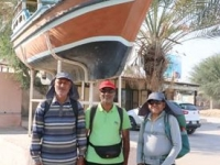 Due to the efforts of three retirees of Hormozgan province was done; 260 km walk on Qeshm UGGp route