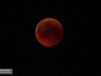 The observation of the longest lunar eclipse of the century in the Stars Valley Geosite